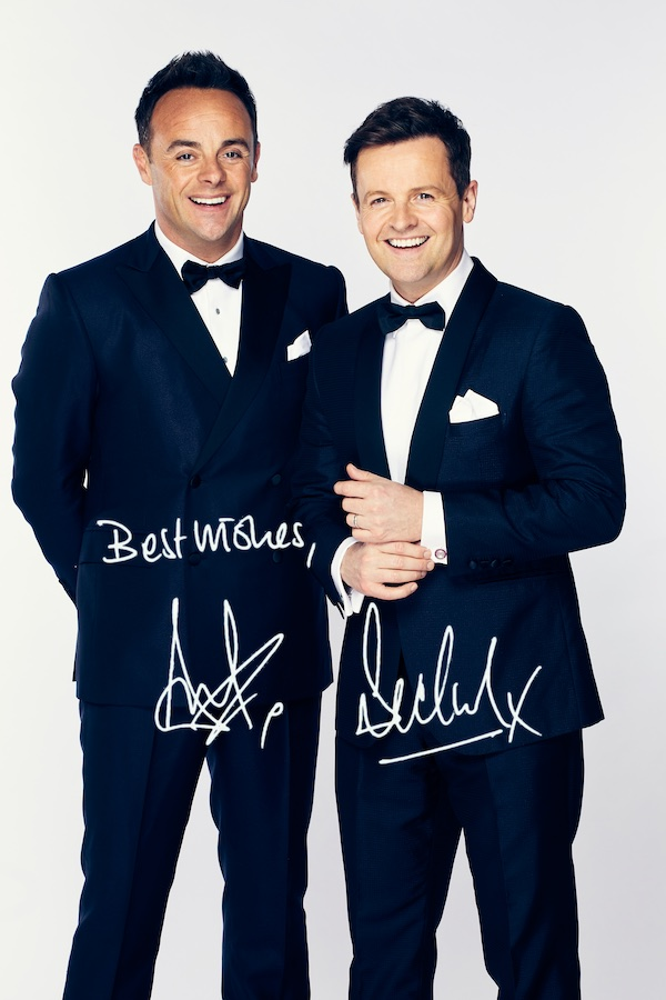Ant & Dec's autographs