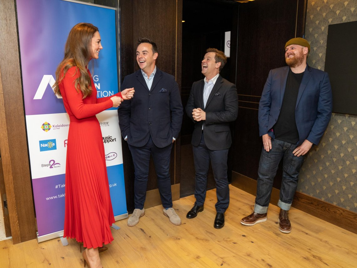 Ant and Dec host the Take Action on Addiction launch event