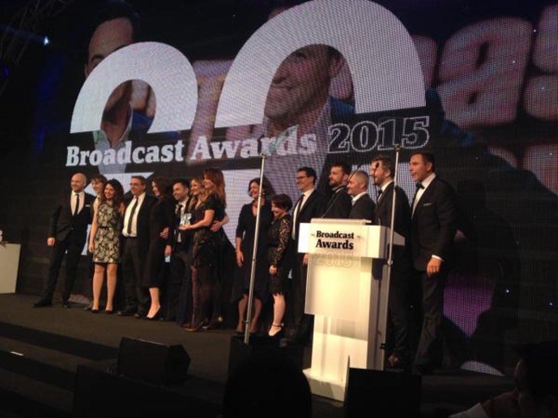 The boys bag a Broadcast Award