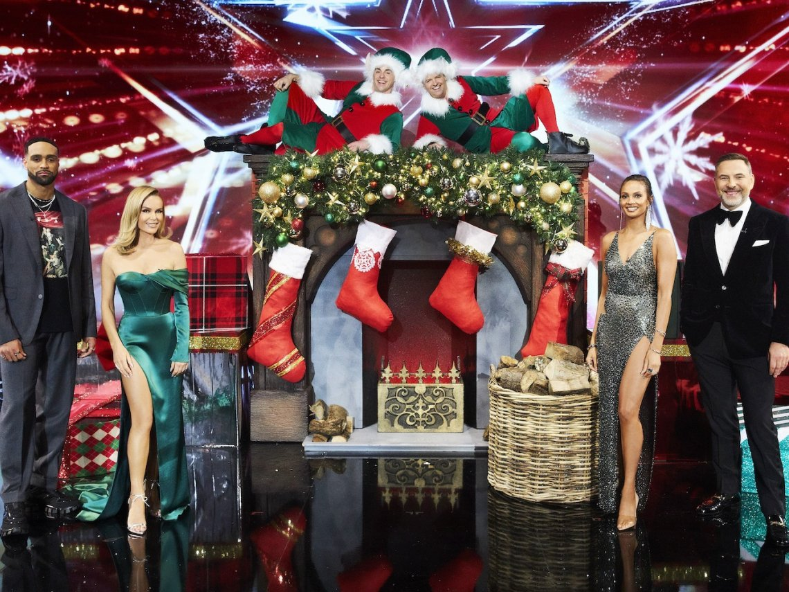 Britain's Got Talent Gets Festive
