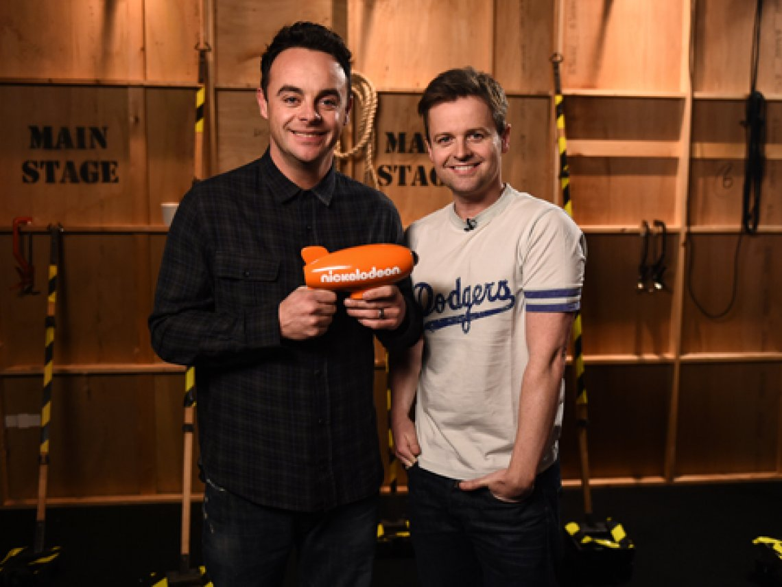 Nickelodeon slimes 'UK TV Legends' Ant & Dec!
