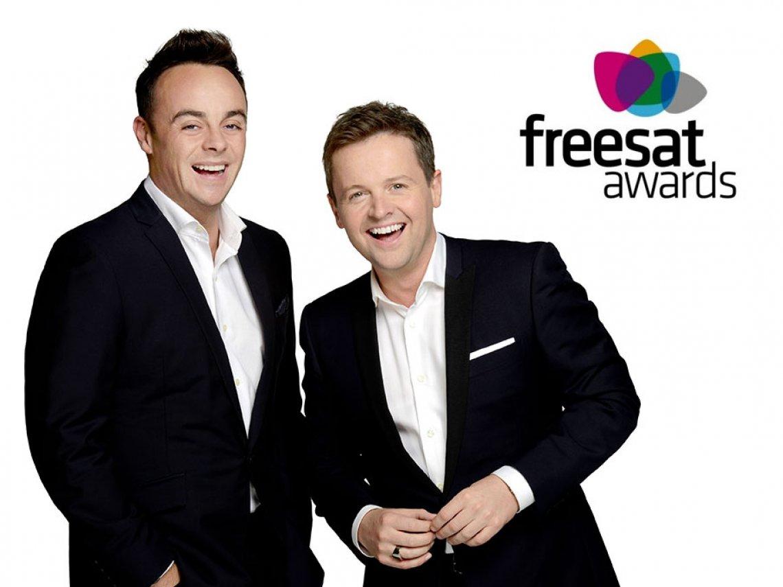 Ant & Dec win Freesat Award