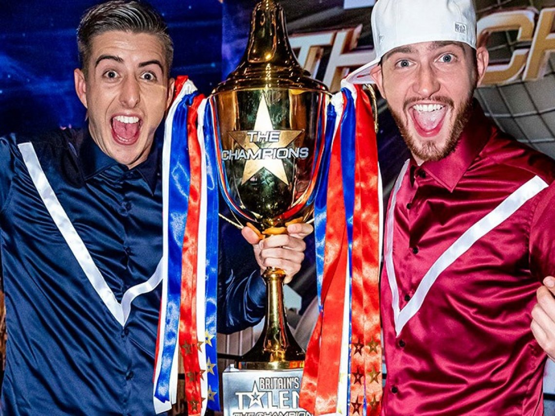 Twist and Pulse win BGT: The Champions!