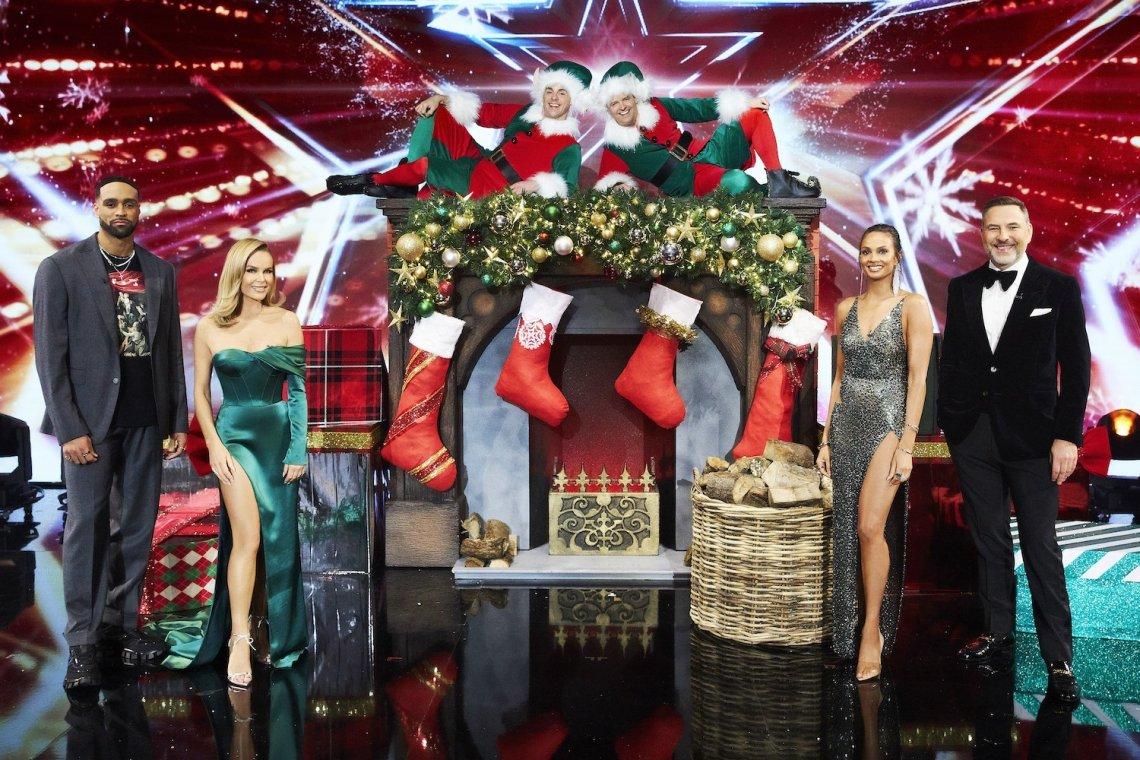 Britain's Got Talent Gets Festive
