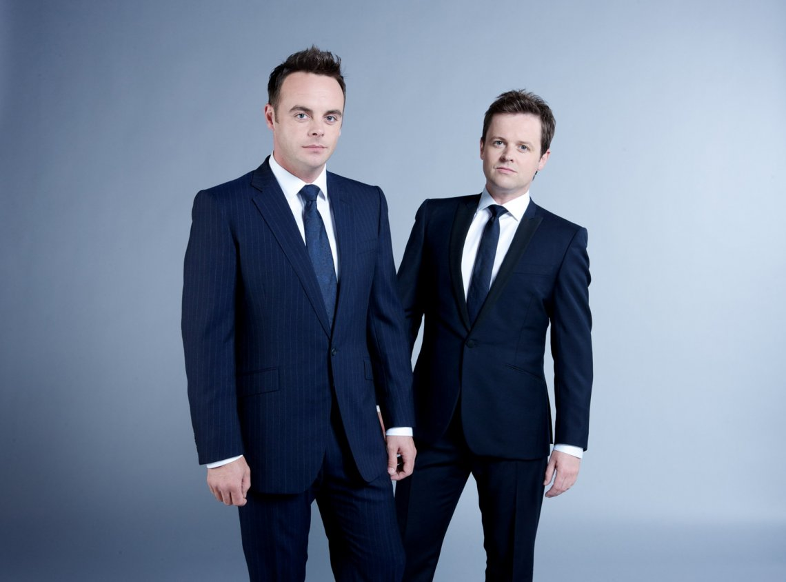 Ant & Dec clear up at TRIC Awards