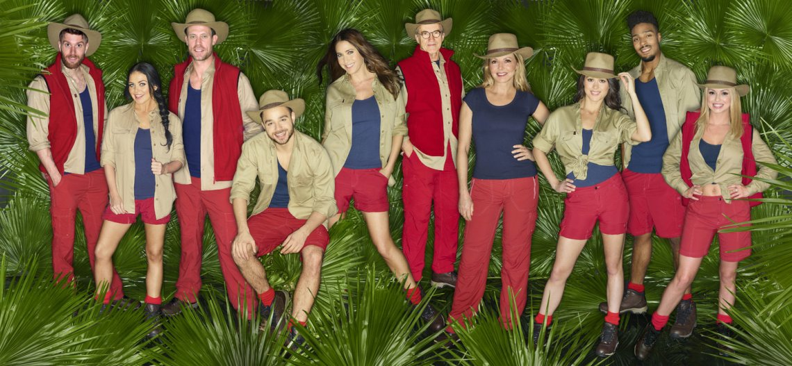 The line-up: I'm A Celebrity... Get Me Out Of Here!