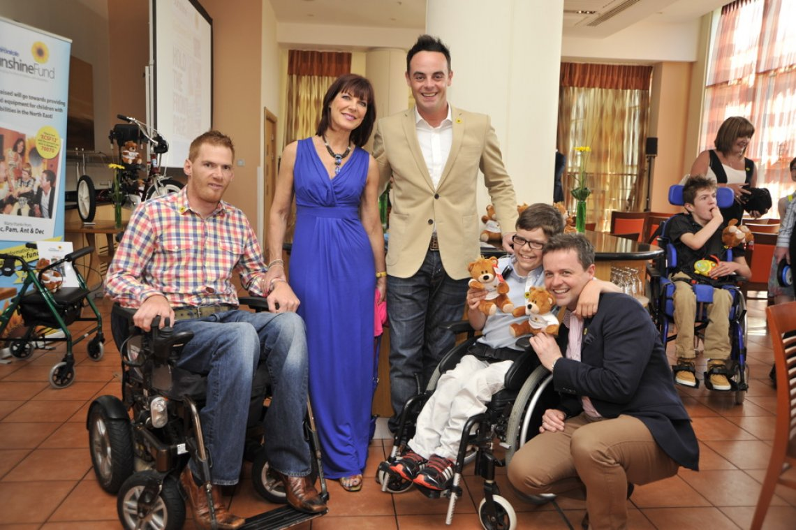 Ant & Dec get back on home turf