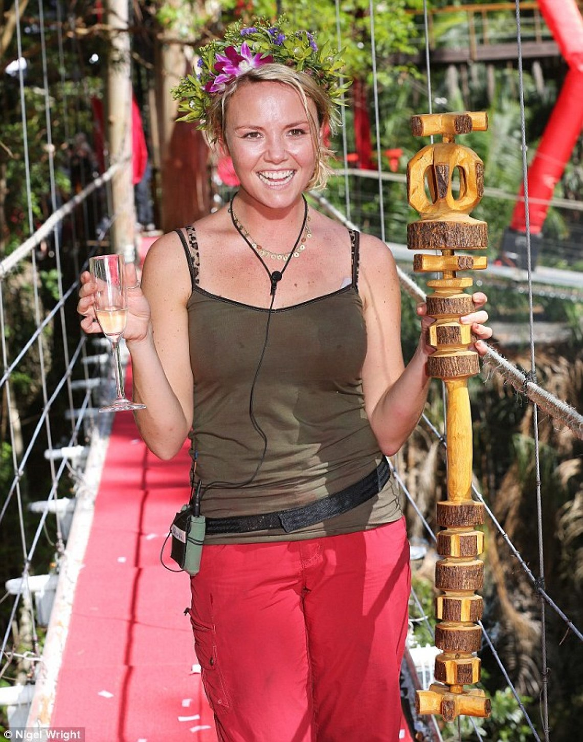 Charlie Brooks crowned Jungle Queen