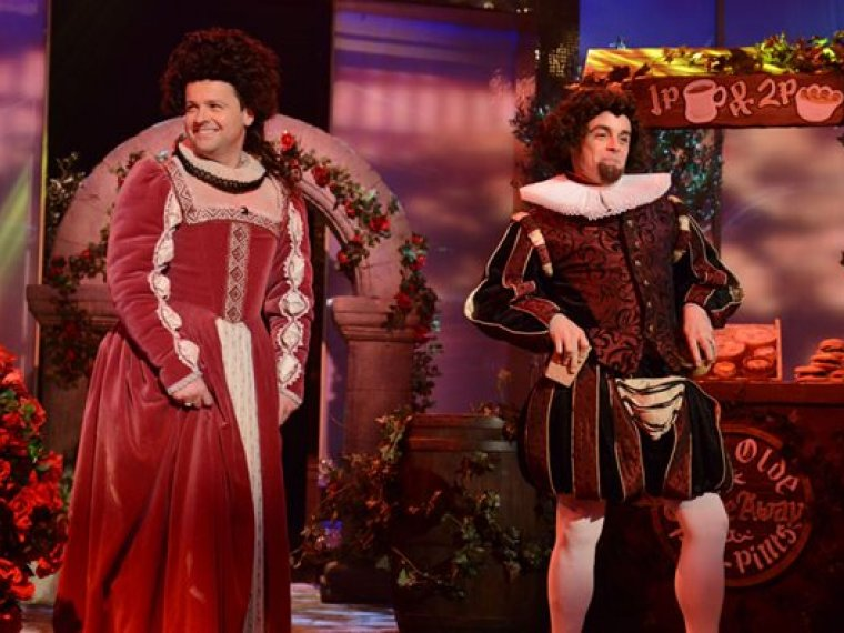 Ant & Dec and Simon Callow do Shakespeare