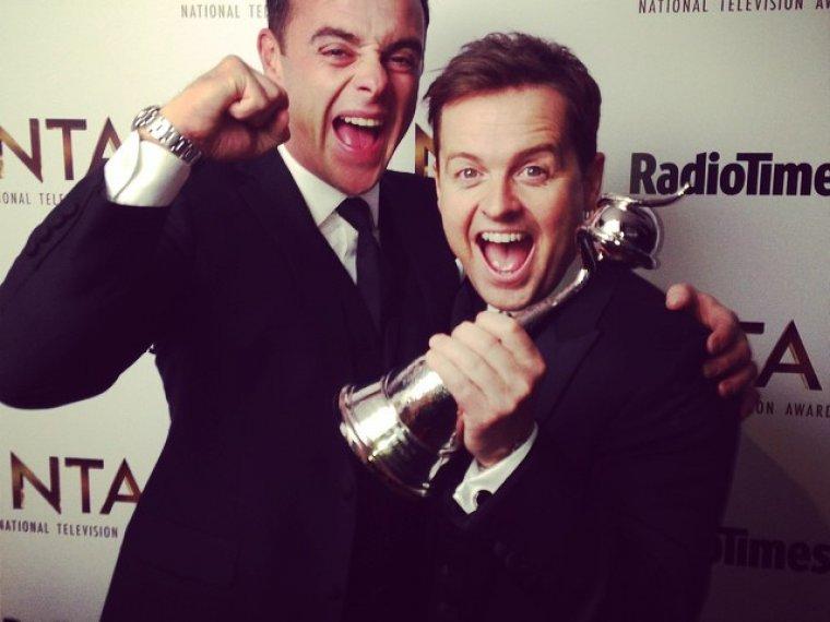 Ant & Dec take home 14th consecutive National Television Award