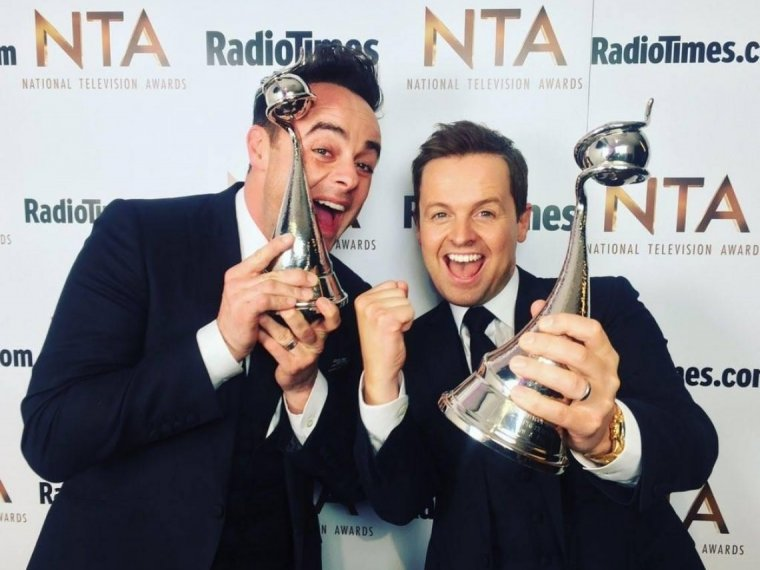 Ant & Dec's NTA double whammy!