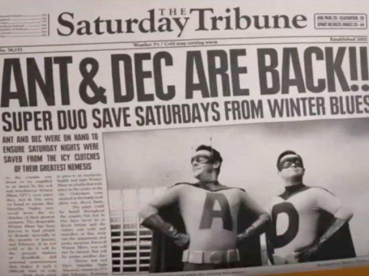 KAPOW! Ant & Dec Takeaway the Winter Blues!