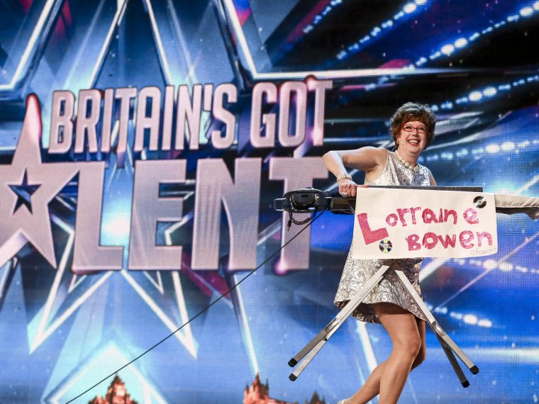 Golden buzzer act Lorraine Bowen won't crumble under pressure