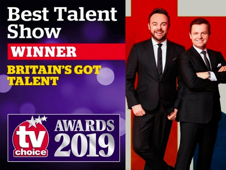 Ant & Dec's TV Choice double whammy