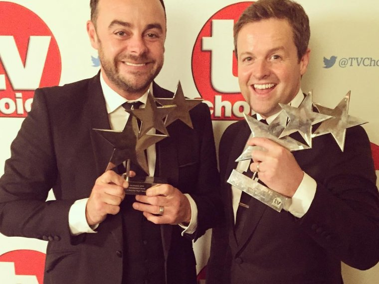 Ant & Dec's TV Choice double-whammy
