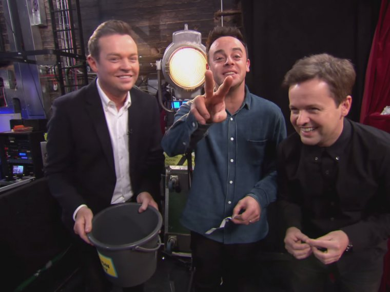 What does The Question Bucket have in store for Ant and Dec?