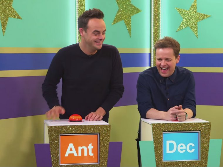 Never mind Ant and Dec's Buzzcocks...