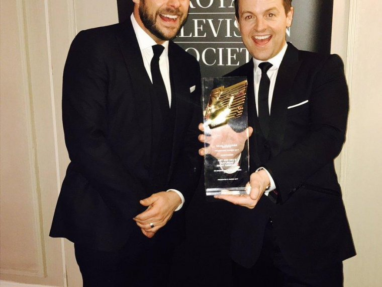 Trophy Takeaway at the RTS Awards