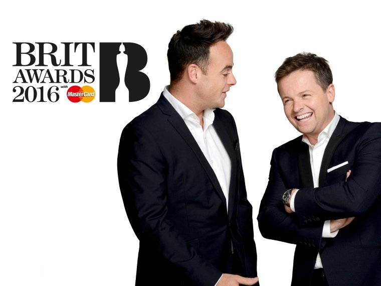 The boys return to The BRITS for 2016!