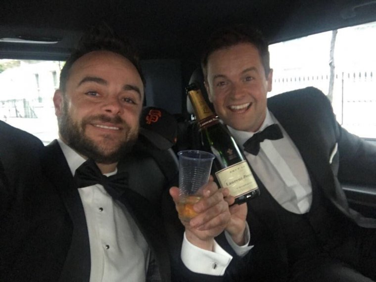 BAFTA glory for the boys!