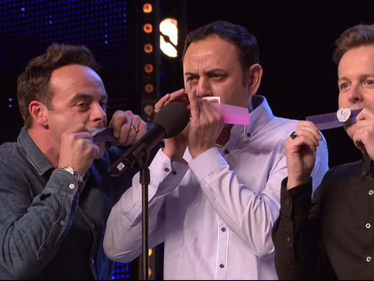 Ant and Dec get in on the act