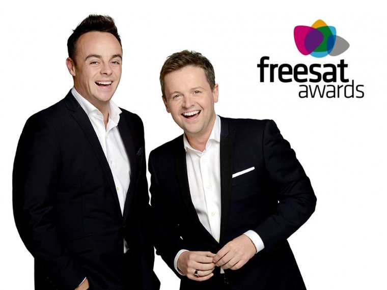 Ant & Dec win Freesat Award