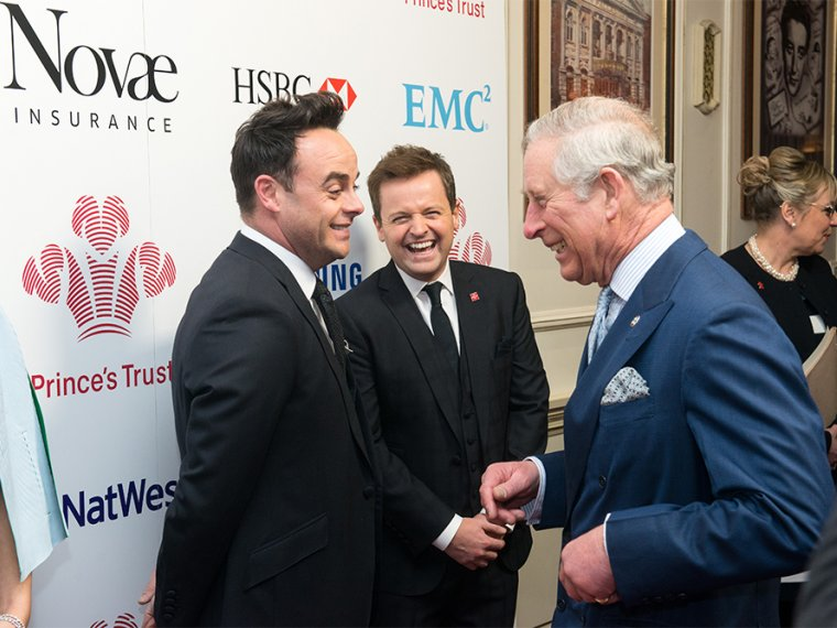 Ant & Dec celebrate inspiring young lives at The Prince's Trust Awards.