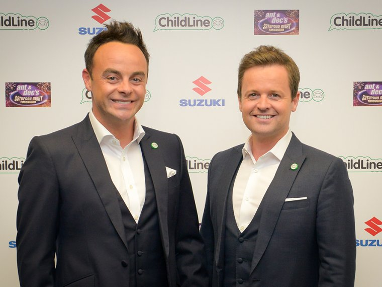 Ant & Dec help raise over £920,000 for ChildLine