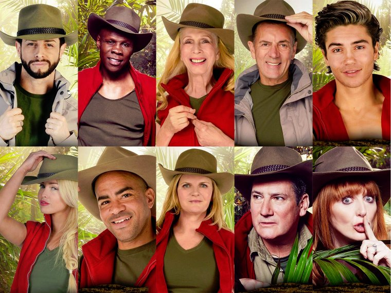I'm A Celeb 2015: The Celebrities... revealed!