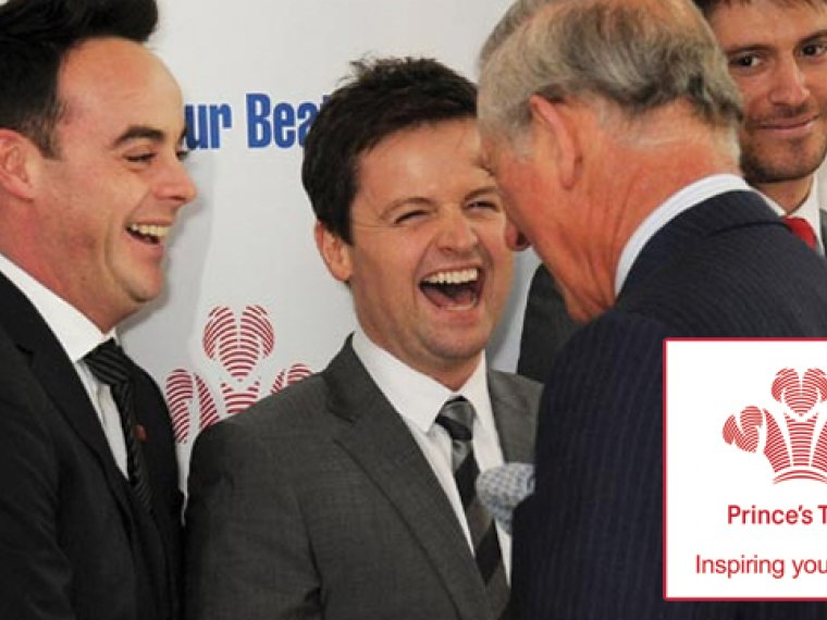 Ant and Dec celebrate Prince's Trust success