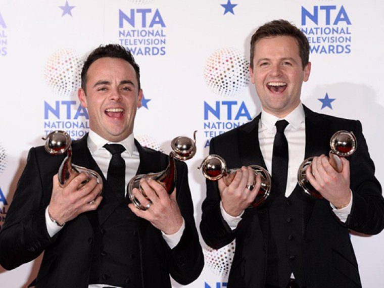 Ant & Dec nominated for Best Presenter for 20th year in a row