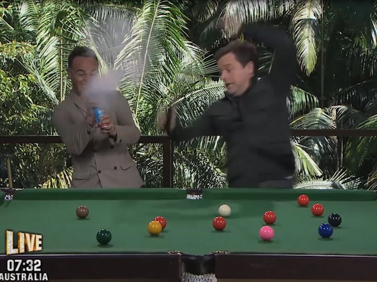 Favourite links: Dec's snooker shocker