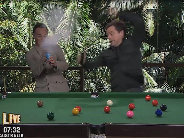 Favourite links: Dec's snooker shocker