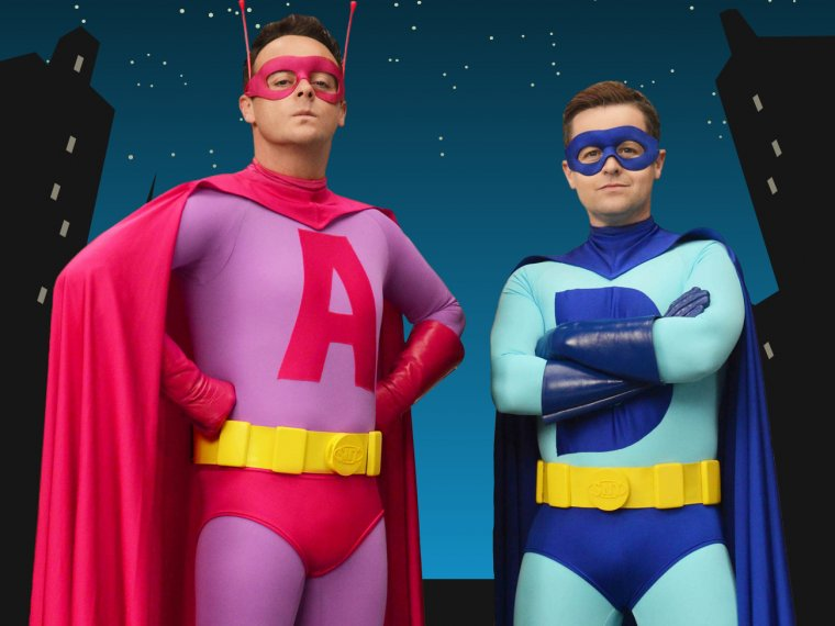 Ant & Dec on the lookout for local Superheroes!