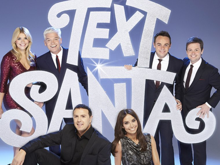 Ant & Dec are putting the fun into fundraising with Text Santa!