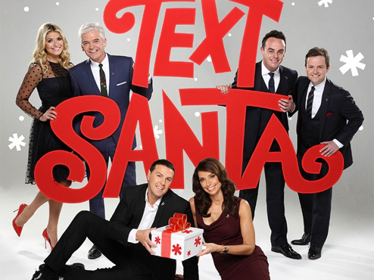 Ant and Dec to Text Santa once again!