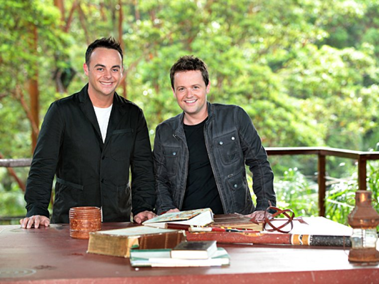 Ant & Dec Word Up for I'm A Celebrity!