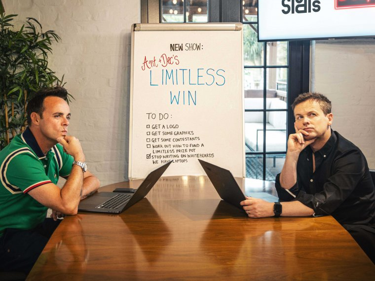 Ant & Dec's Limitless Win: Coming soon!