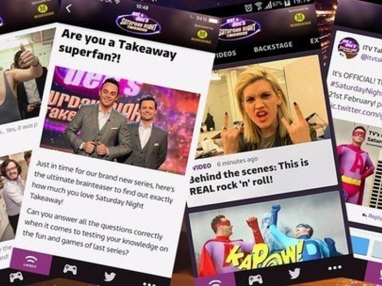 Get the new Saturday Night Takeaway app