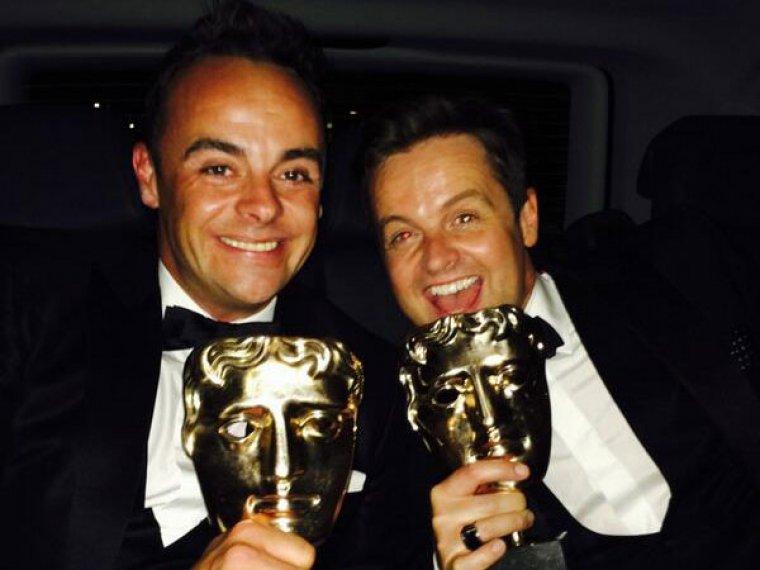 Ant & Dec bag two BAFTAs