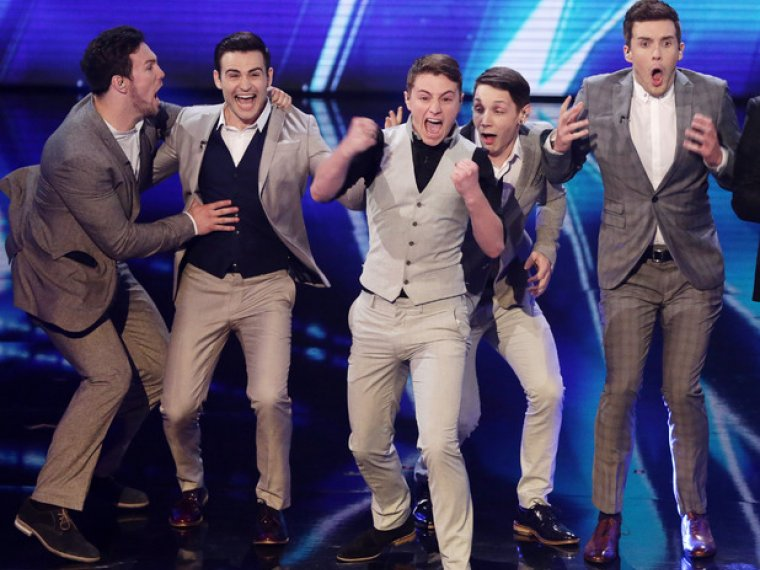 Collabro win Britain's Got Talent 2014