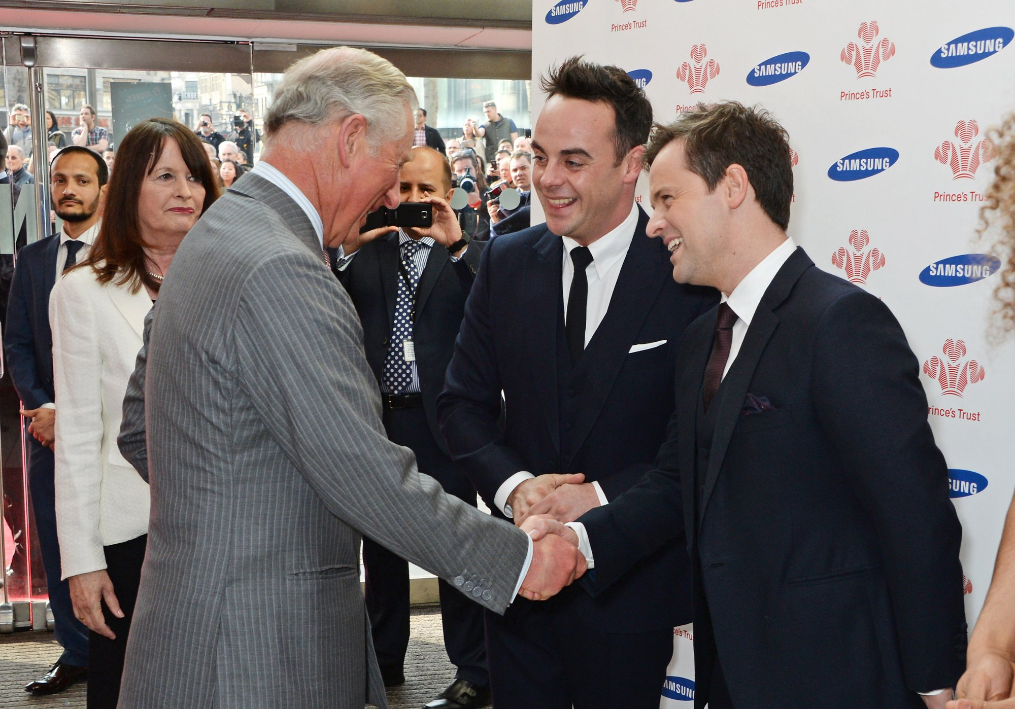 Ant & Dec celebrate 40 years of The Prince's Trust